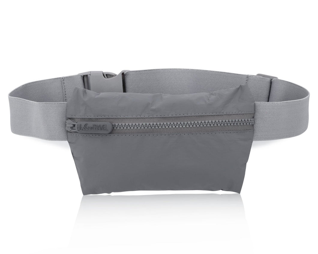 Hi Love Travel Fannie Invisible Pack in Cool Gray II