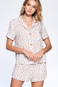 Crescent Dusty Rose Pajamas