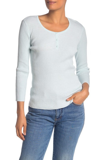 Michael Stars Ribbed Robyn Top