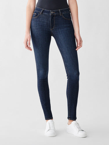 DL1961 Florence Mid Rise Skinny in Bennet