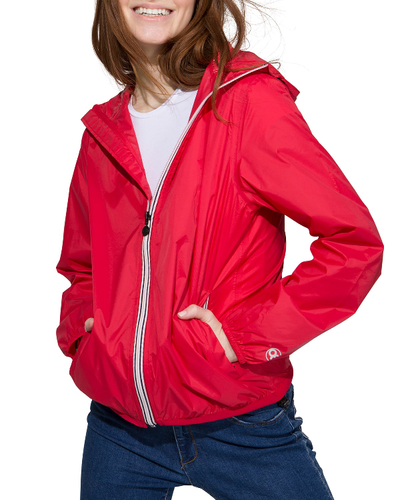 O8lifestyle Sloane - Rogue Full Zip Packable Rain Jacket