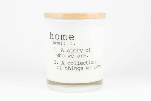 Home Definition Soy Candle - Sea Salt