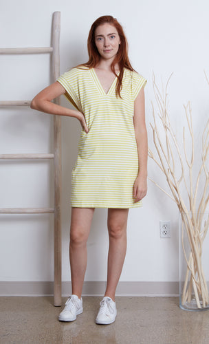 Grey State Kitte Stripe Dress