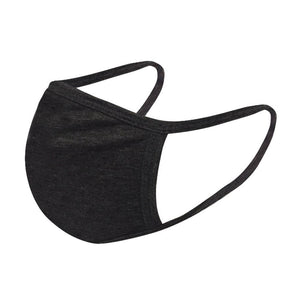 Cotton Face Mask - Reusable - Washable - Black