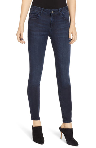 DL1961 Florence Ankle Mid Rise Skinny in Redmond