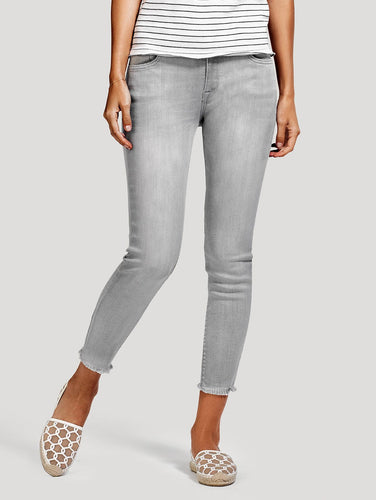 DL1961 Florence Crop Mid Rise Intasculpt Skinny Jean in Legendary