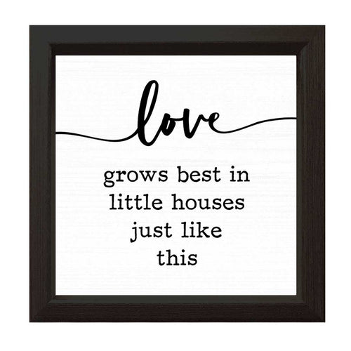 Love Grows Best | Wood Sign