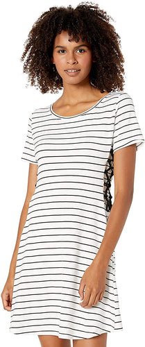 BB Dakota Stripe Dress with Lace Up Sides