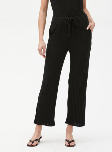 Michael Stars Brooklyn Pant in Black