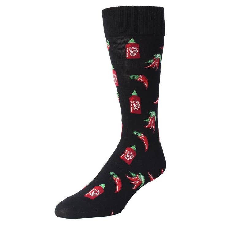 Hot Stuff Men's Crew Socks