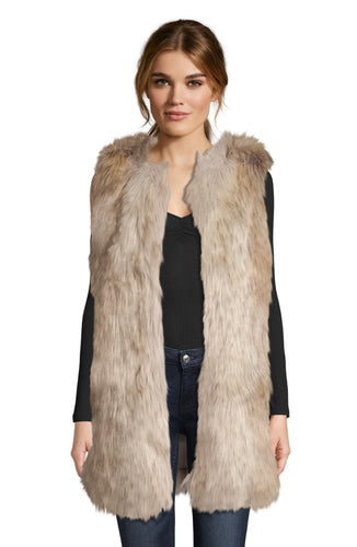 BB Dakota Fur-the Ado Vest
