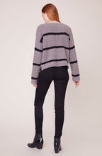 Load image into Gallery viewer, BB Dakota Chenille Deal Striped Sweater