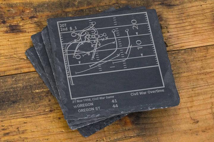 Greatest Oregon State Football Plays Coasters