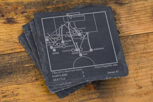 Portland Timbers Greatest Play Coasters