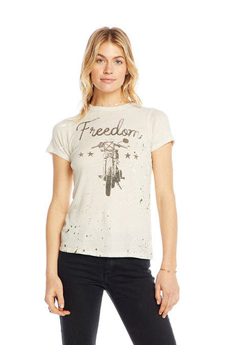 Chaser Brand Freedom Slim Graphic Tee