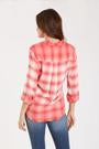 Load image into Gallery viewer, Dear John Sophia Dip Dye Plaid Shirt