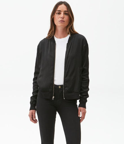 Cash Satin Bomber