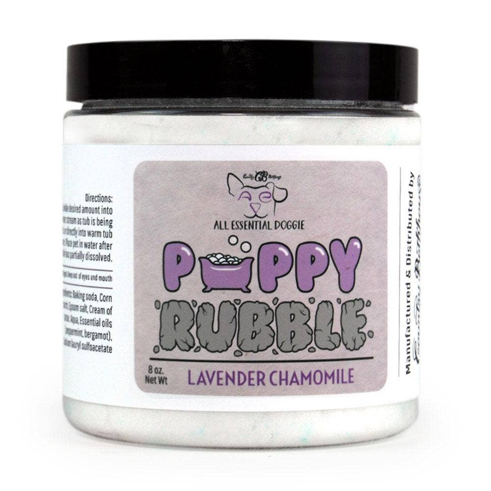 Doggie Puppy Rubble Lavender Chamomile