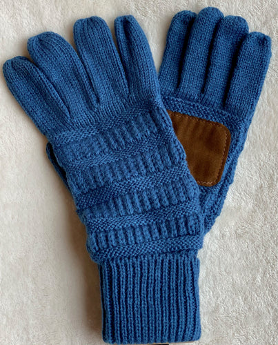 Knitted Gloves - Multiple Colors