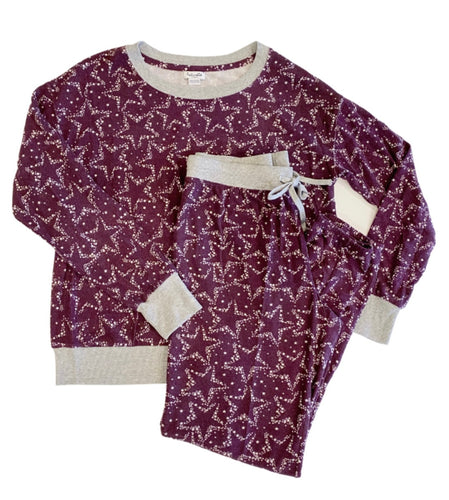Westport Sleep Set - Stars in Wine