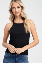 Load image into Gallery viewer, Crescent Noelle Knit Halter Top