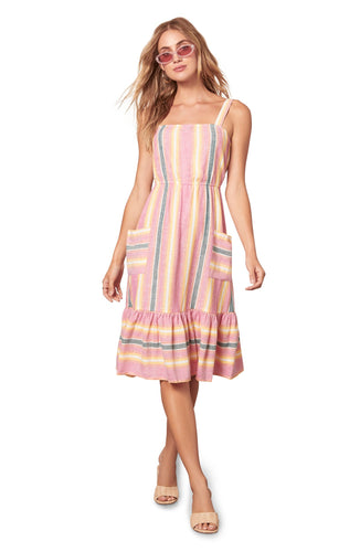 Pink Lemonade Midi Dress