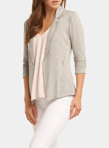 Tart Collections Nicki Blazer in Light Grey