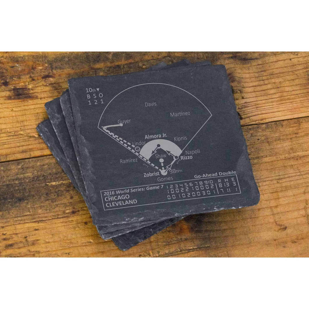 2016 Chicago Cubs Championship Coasters