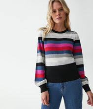 Load image into Gallery viewer, Michael Stars Bell Striped Sweater