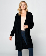 Load image into Gallery viewer, Renee C Knit Long Cardigan
