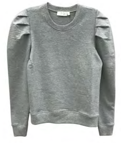 RD Style Puff Shoulder Sweatshirt