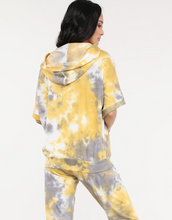 Load image into Gallery viewer, Enti Tie-Dye Lightweight S/S Hoodie