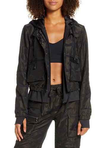 Skyfall Aviator Jacket in Camo