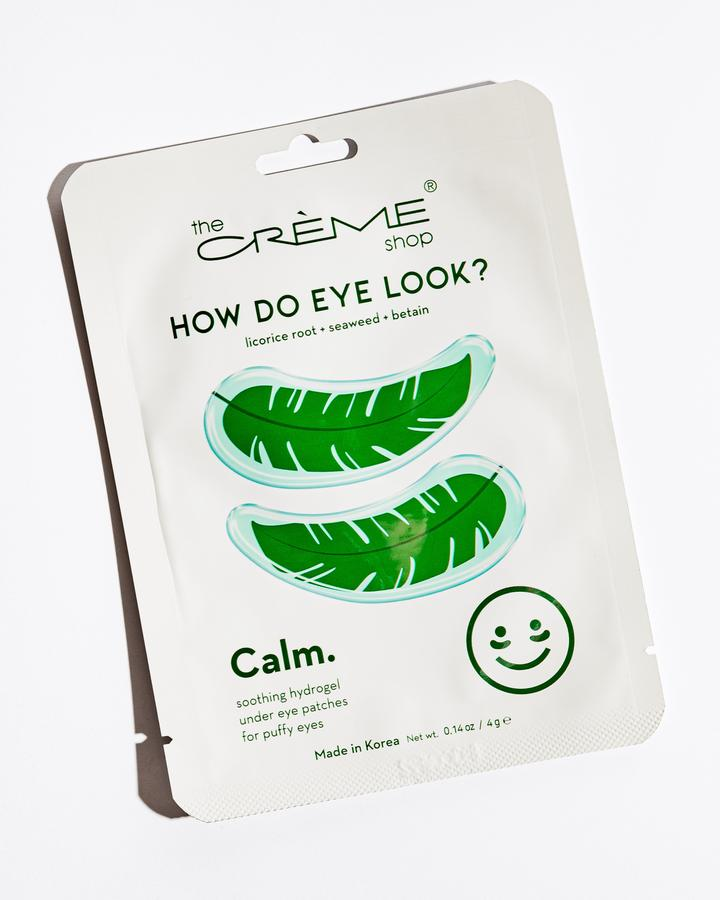 The Creme Shop Calm Patches for Puffy Eyes