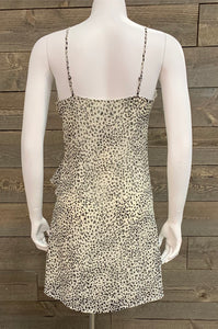 Crescent Harper Animal Print Dress