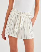Load image into Gallery viewer, 7 For All Mankind Tie Waist Short in Miroglio Stripe