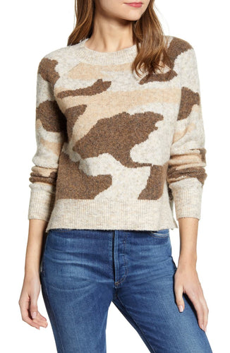 RD Style Camo Sweater