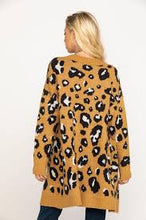 Load image into Gallery viewer, Miss Me Ginger Brown Leopard Cardigan