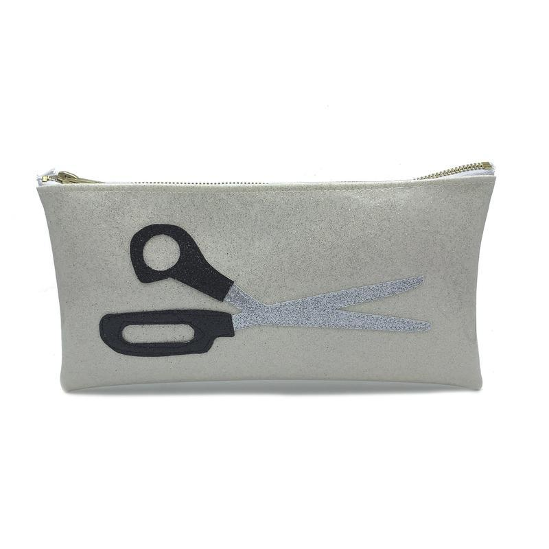 Julie Mollo Classic Scissors Clutch