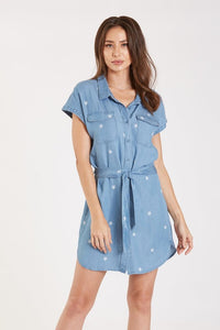 Dear John Kelly Mini Star Shirt Dress - Final Sale