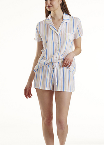 Splendid Short Sleeve Sleep Set in Stripe
