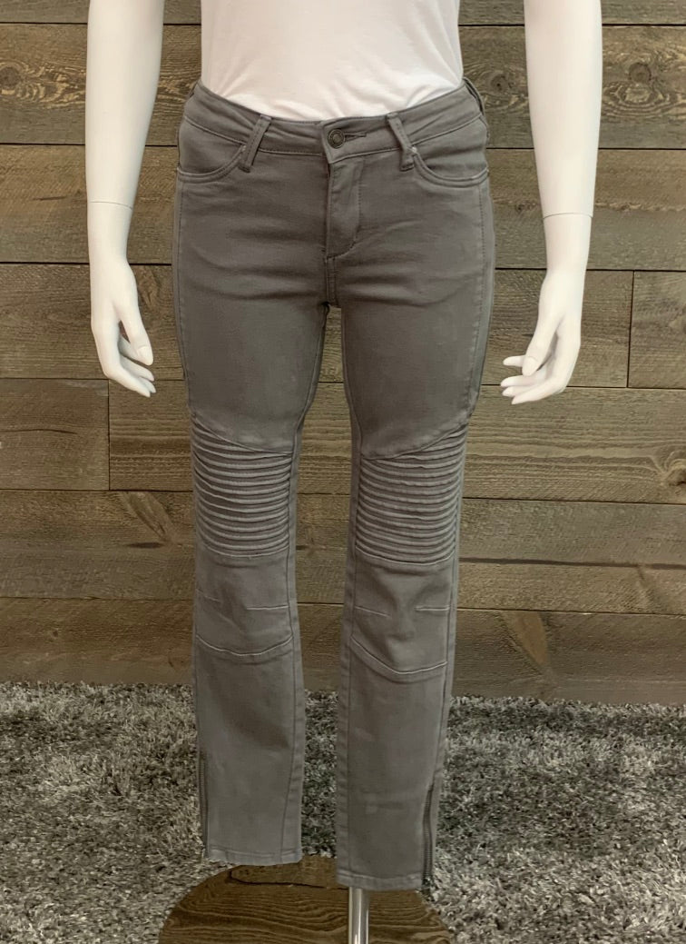 Wishlist Skinny Moto Biker Pants- Final Sale
