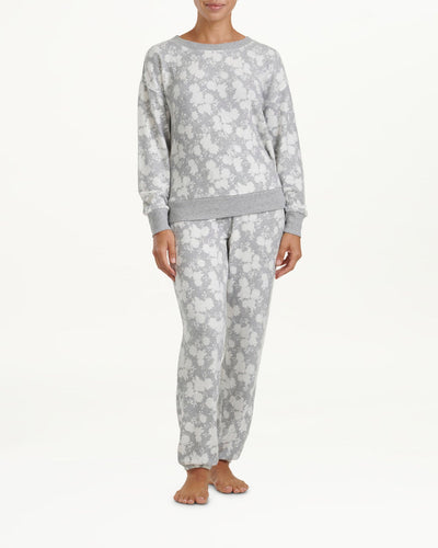 Westport Sleep Set - Floral Heather Grey