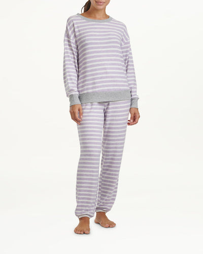 Westport Sleep Set - Lilac Stripes
