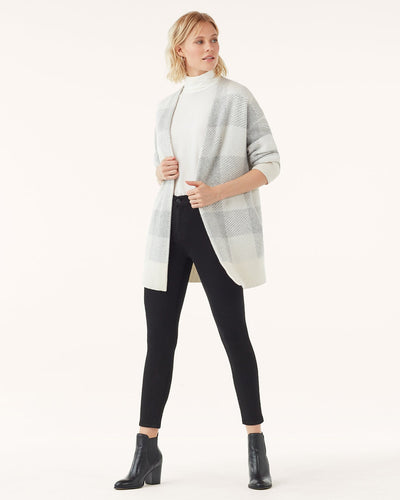 Splendid Aurora Soft Cashmere Plaid Cardigan