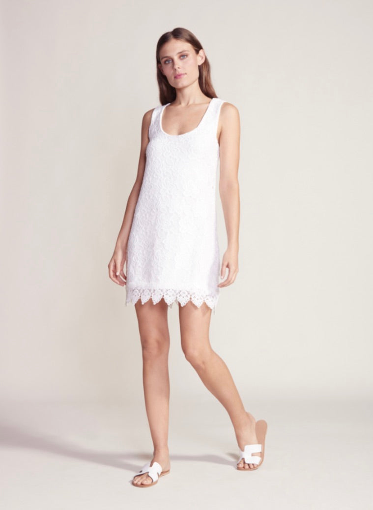 Jack by BB Dakota Off White Lace Dress - Final Sale