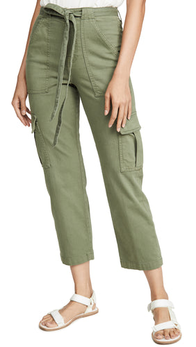 7 For All Mankind Utility Pant in Fatigue