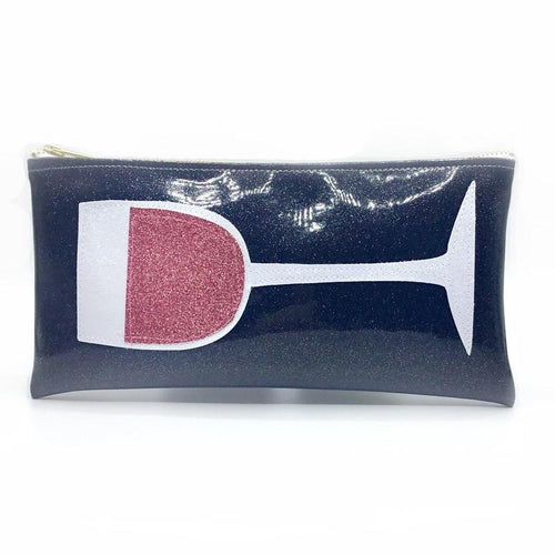 Julie Mollo Classic Red Wine Clutch