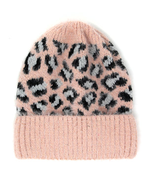 Leopard Beanie - Multiple Colors
