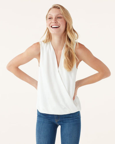 Splendid Summit Silk Tank